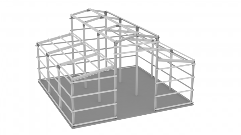 Steel Barn Frame