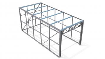 Stud Frame Storage shed