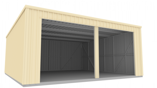 Skillion Shed Render